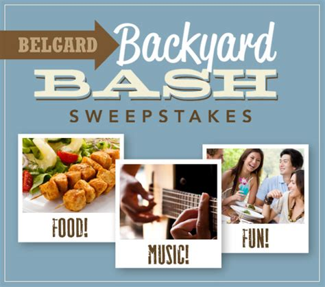 Belgard Hardscapes Sweepstakes - news from belgard hardscapes