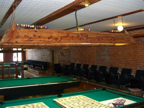 custom cedar table lights azbilliards com