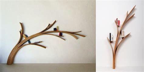 Bookshelf Bench 22 stunning tree inspired furniture designs