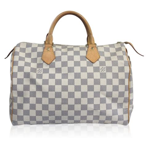 Louis Vuitton Dust Bag louis vuitton damier azur speedy 30 handbag in dust bag