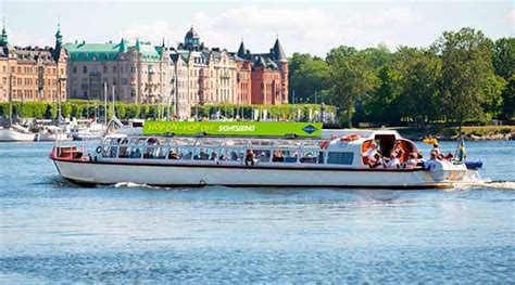 boat tour stockholm hop on hop off bus and boat tours free with the