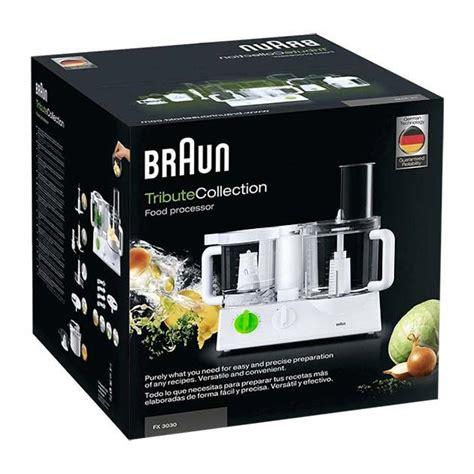 robot da cucina braun prezzi robot da cucina tributecollection fx 3030 braun offerte