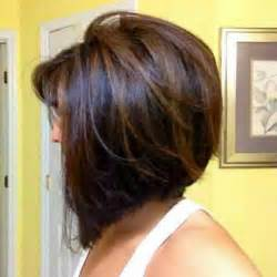 Stacked a line bob haircut with layers layered a line bob cut