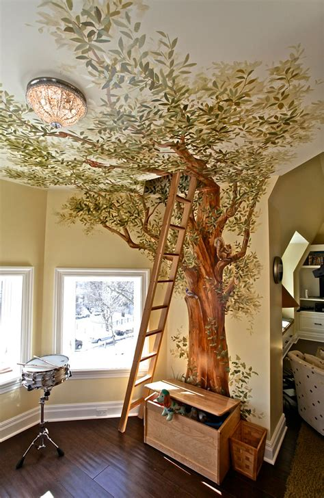 tree in bedroom 22 of the most magical bedroom interiors for kids