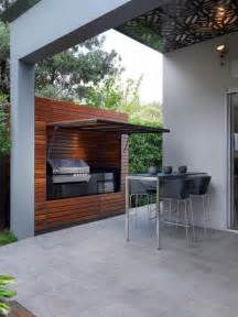 Grilling Porch by 29 Cool Outdoor Barbeque Areas Digsdigs