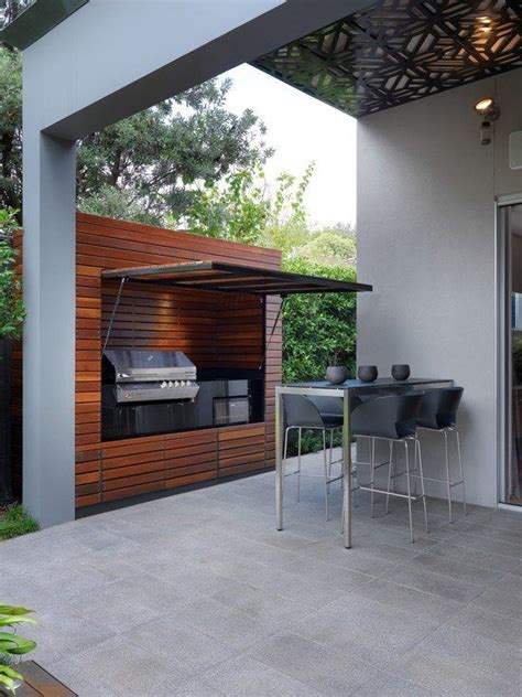 outdoor cooking area plans 29 cool outdoor barbeque areas digsdigs