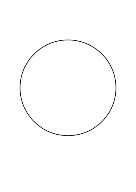 6 Inch Circle Template Printable Pdf Download 6 Inch Circle Template