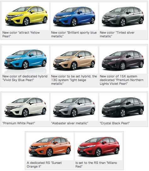 2014 honda jazz colors indian autos