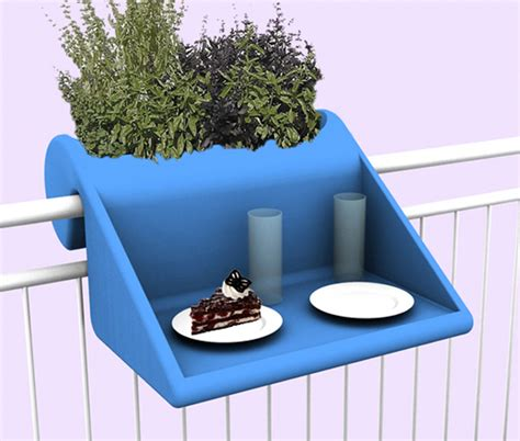 The Balcony Planters by Www Urbangardensweb Railing Planter And Table For