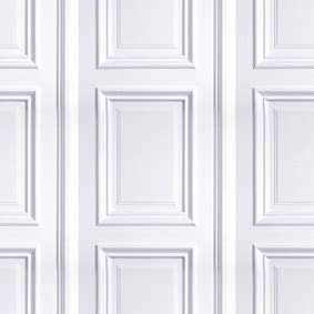 Wallpaper That Looks Like Wainscoting by White Panelling Wallpaper Mineheart