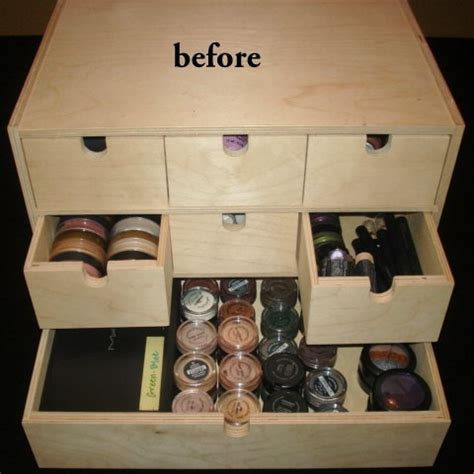 Makeup Vanity Organization Ideas Oldmakeup