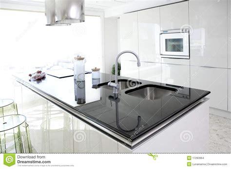 5 clean modern kitchen interior modern white kitchen clean interior design stock photo
