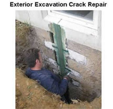 repair basement cracks 33 best images about underpinning ideas on