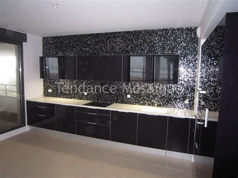 Credence En Mosaique by Micro Mosaique Cr 233 Dence De Cuisine Bisazza Princess Black
