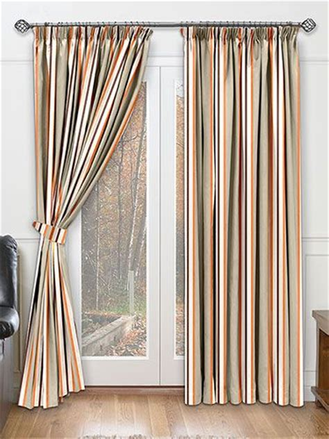 burnt orange striped curtains 17 best ideas about burnt orange curtains on pinterest