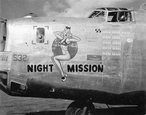 Color Painting by Airplane Nose Art Bomber Nose Art Wwii Nose Art Nose