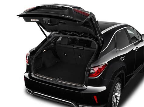 lexus sport 4 door image 2016 lexus rx 350 awd 4 door f sport trunk size