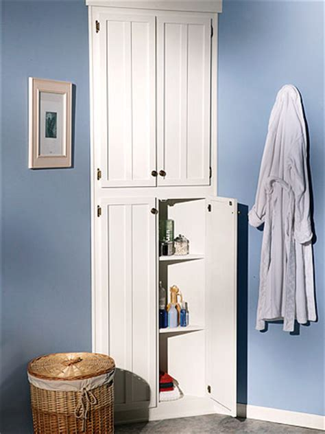 bathroom corner linen cabinet how to build an corner bathroom cabinet