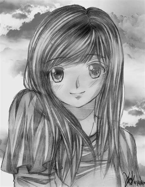 anime cantik cewek cantik by w1zemakers on deviantart