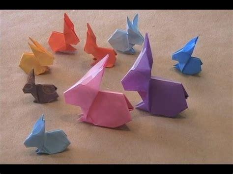 Easy Origami Rabbit - origami rabbit by stephen o hanlon