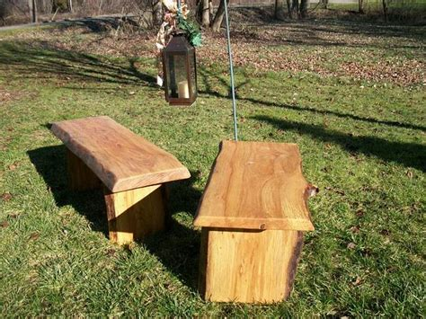 rustic wooden garden benches 4 rustic garden bench outdoor indoor wood by poppasboats on zibbet