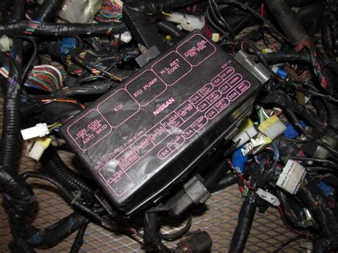 nissan sx oem fuse box wiring harness