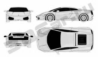 Lamborghini Gallardo Blueprint Lamborghini Gallardo Blueprint Blueprints Lam Lamborghini