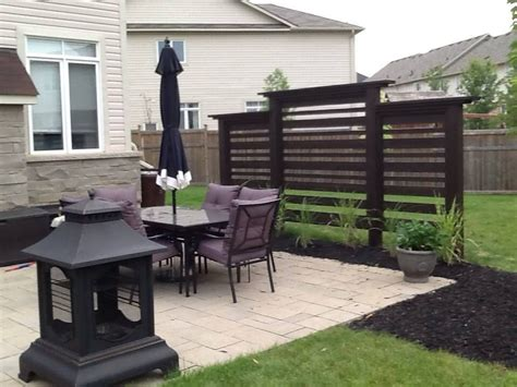 how to get more privacy in backyard we built this privacy screen ourselves for a modern look