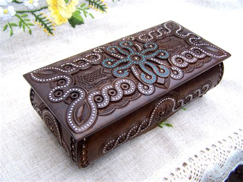16 unique handmade jewelry box designs for jewelry