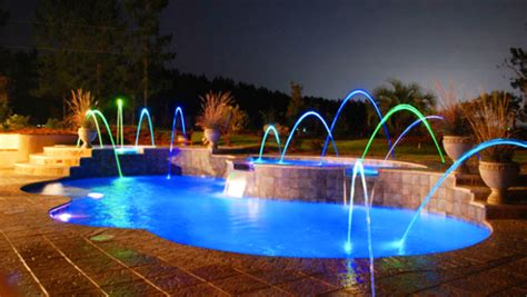 pool lighting ideas 15 attractive swimming pool lighting ideas