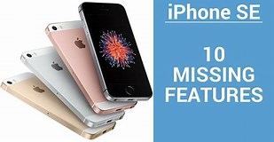 Image result for What are the features of iPhone SE?. Size: 309 x 160. Source: www.idownloadblog.com