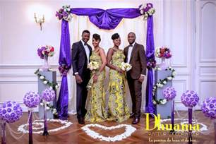 robe de mariage en pagne africain