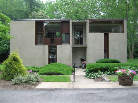 louis house esherick house louis kahn philadelphia united states mimoa