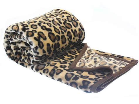 wolldecke kuscheldecke leopard muster decke 200 x 240 cm