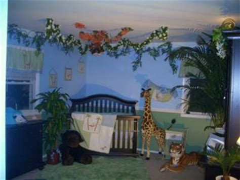 Jungle Themed Nursery Decor Jungle Baby Room Ideas