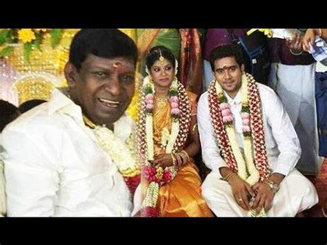 Actor vadivelu daughter marriage poem