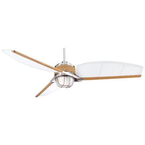 escape 68 in brushed nickel indoor outdoor ceiling fan 16 best images about ceiling fans on pinterest chrome