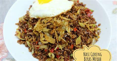 resep nasi beras merah enak  sederhana cookpad