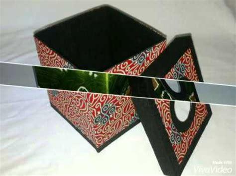 kerajinan tempat tisu batik indonesia