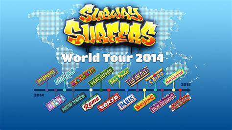 World Tour subway surfers world tour 2014
