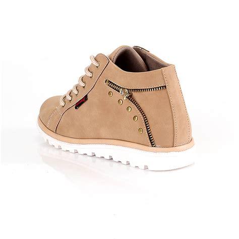 Boots Fashion Wanita sepatu boots fashion kasual wanita gustra shop