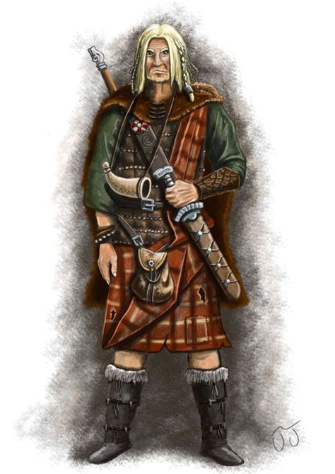 scottish warrior celtic warrior by jcjacobsson on deviantart faeries