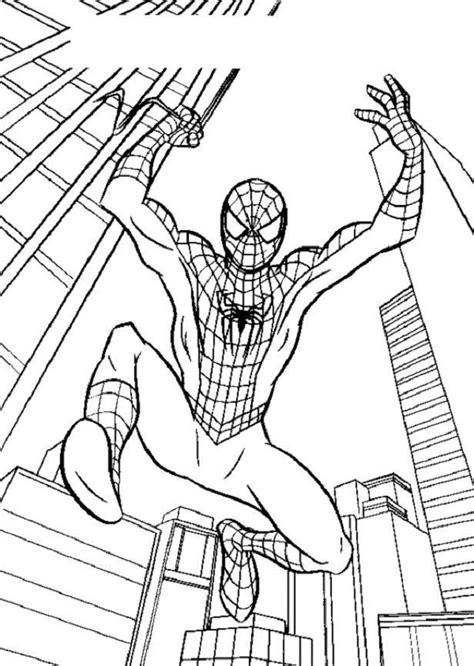 imagenes a blanco y negro de spiderman spiderman dibujos para colorear