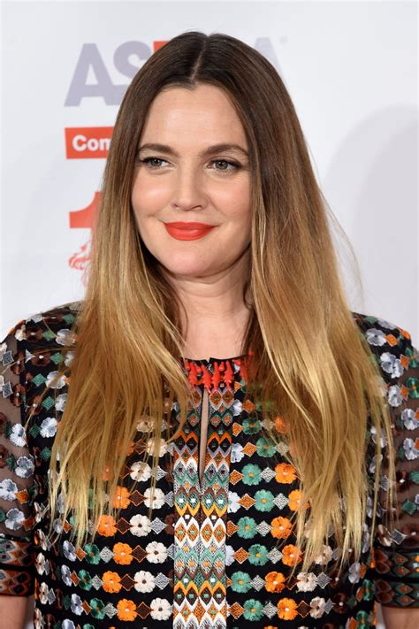 Drew Barrymore Hairstyles by Drew Barrymore Ombre Hair Hair Lookbook Stylebistro