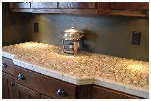 rock kitchen tile countertop there s no place like home