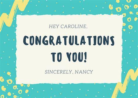 Congratulations Card Design Templates by Congratulations Card Templates Canva