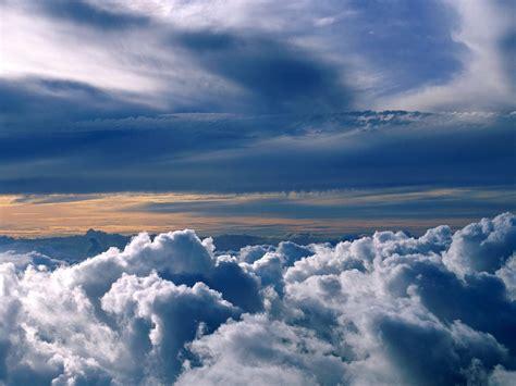 wallpaper blue cloud wild blue yonder wallpaper