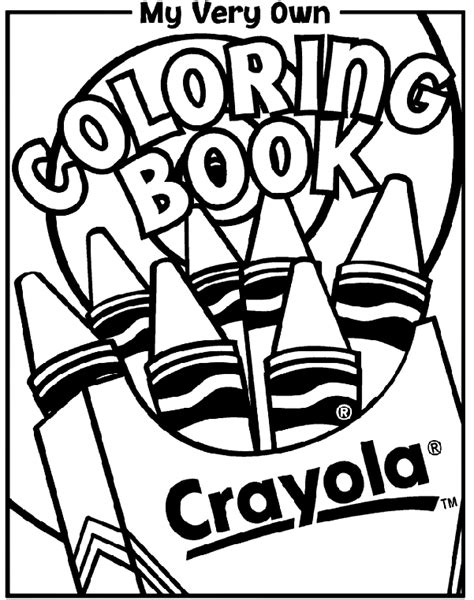 Coloring Book Cover   crayola.co.uk