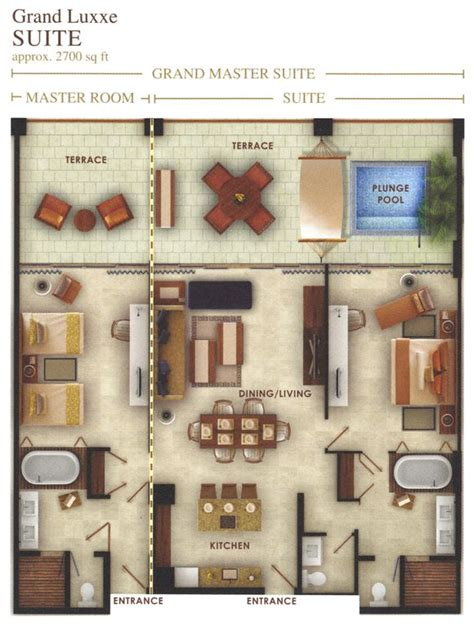 floor plans grand luxxe residence junior villa plan master modern grand luxxe 2 bdrm status luxury spa vrbo
