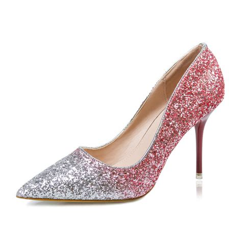 Rhinestone Platform Pumps get cheap silver rhinestone pumps aliexpress
